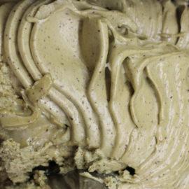 pistachio gelato, leicester dessert