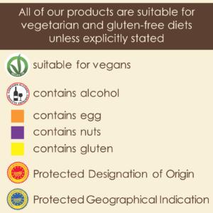 Menu information, gelato leicester, is gelato vegan