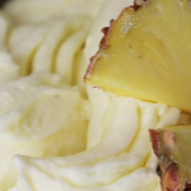 pineapple, gelato, vegan leicester