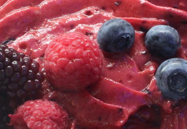 frutti di bosco gelato