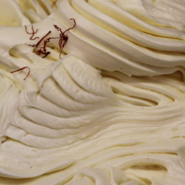 saffron gelato