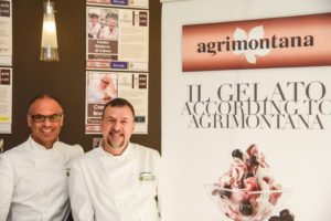 Antonio De Vecchi and Daniele Taverna at Gelato Village Leicester