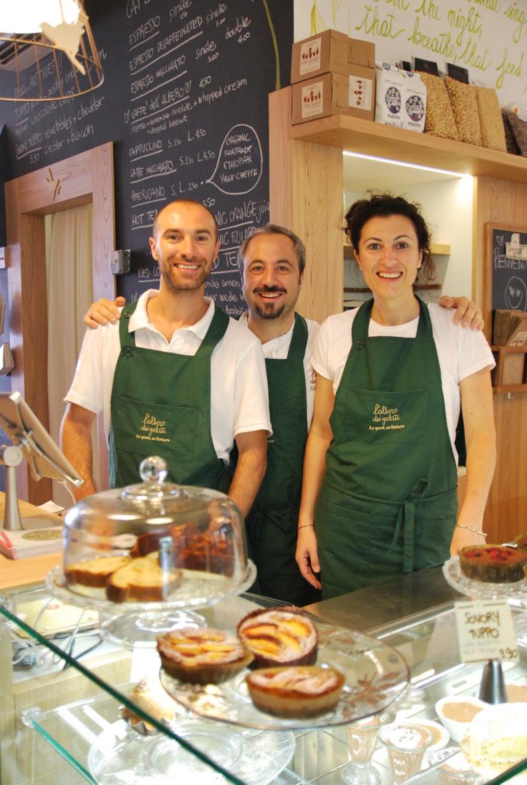 The L'Albero dei Gelati team are visiting Gelato Village in Leicester in 2018