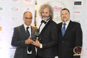 Gelato Village win best gelateria in the UK at the Italian Awards.