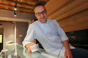Marco Radicioni, a Maestro Gelatiere who is participating in the gelato event in Leicester