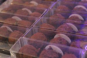 Handmande chocolate pralines at Gelato Village Leicester