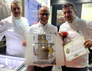 Daniele Taverna, Antonio De Vecchi and Mirko Tognetti at Sigep 2019