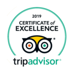 Certificate of Excellence 2019 TripAdvisor Gelato Village