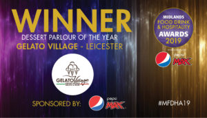 Gelato Village dessert parlour of the year 2019