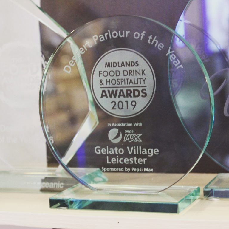 Gelato Village named the Best Dessert Parlour in the Midlands